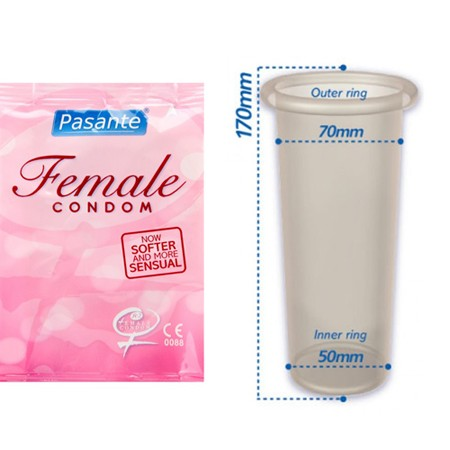 Pasante Frauenkondome