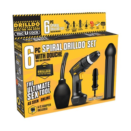Drilldo 6-teiliges Spiral Set