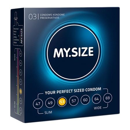 MY.SIZE Kondome 53 mm 3er