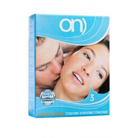 ON Natural Feeling Kondome 52 mm 3er