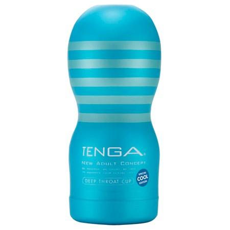 Tenga Cool Deep Throat Cup blau