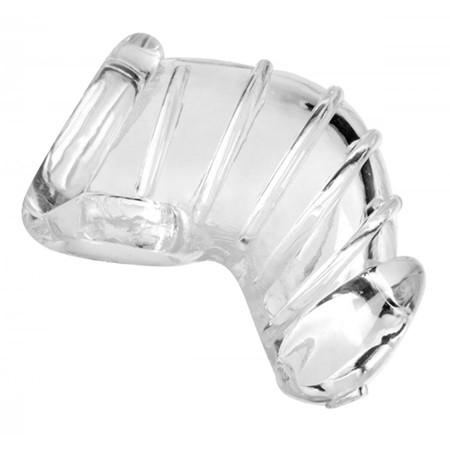 Flexibler Keuschheitskäfig - Transparent
